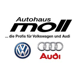 Autohaus Moll GmbH  VW + AUDI Logo