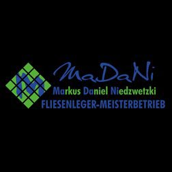 Logo Firma MaDaNi Fliesenleger-Meisterbetrieb in Mössingen