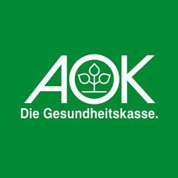 Logo Firma AOK - Die Gesundheitskasse Bodensee-Oberschwaben in Friedrichshafen