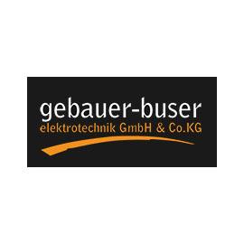 Logo Firma Gebauer-Buser Elektrotechnik GmbH & Co. KG in Heiligenberg