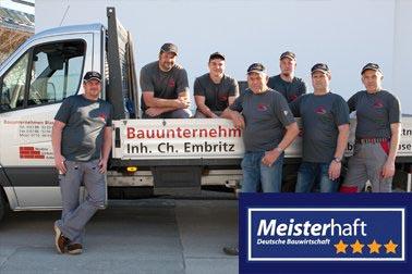 Bauunternehmen August Blaser Inh. Christof Embritz  Firma