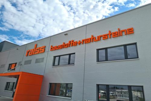 E. Raiss GmbH + Co. Baustoffhandel KG Firma