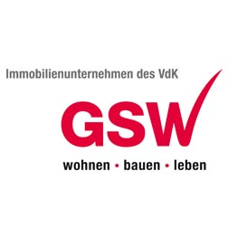 Logo Firma GSW Gesellschaft für Siedlungs- und Wohnungsbau Baden-Württemberg mbH in Sigmaringen