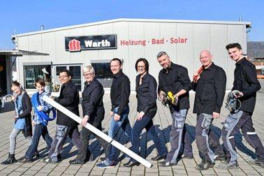 Warth Heizung - Bad - Solar  Firma